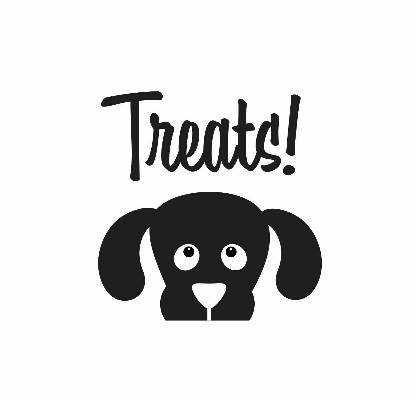 Dog Treats Decal
