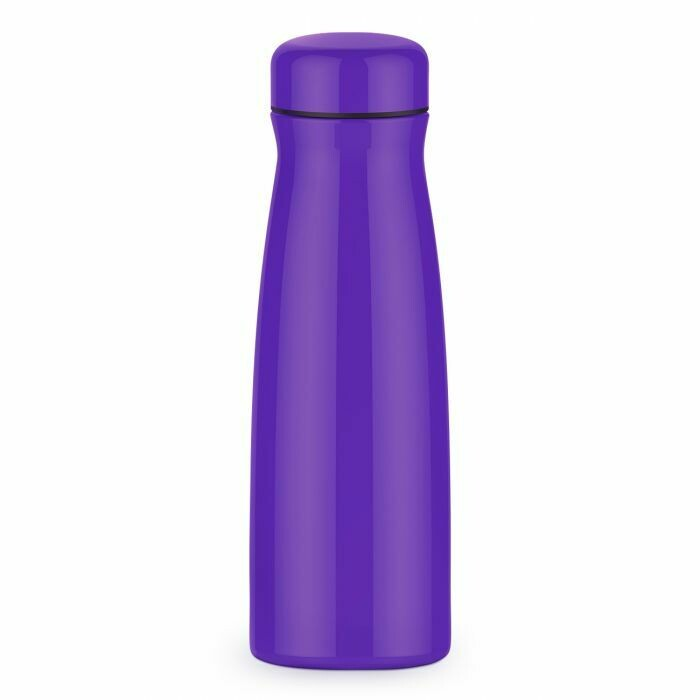 Purple Hot Drink Holder - metal thermos