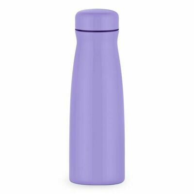 Light Purple Hot Drink Holder - metal thermos