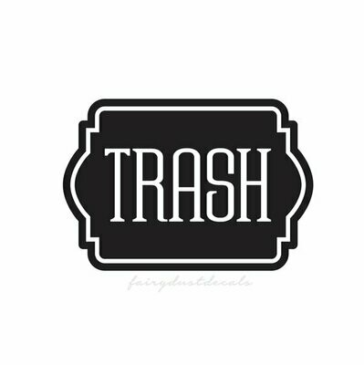 Trash Decal