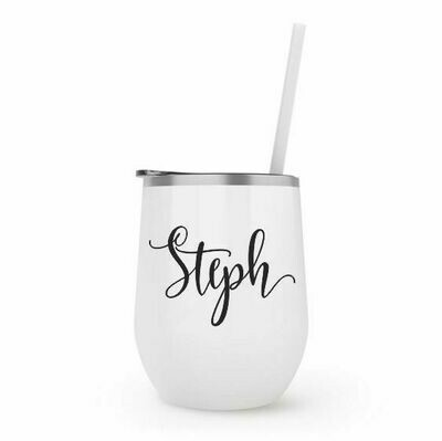 Gloss White Wine Tumbler