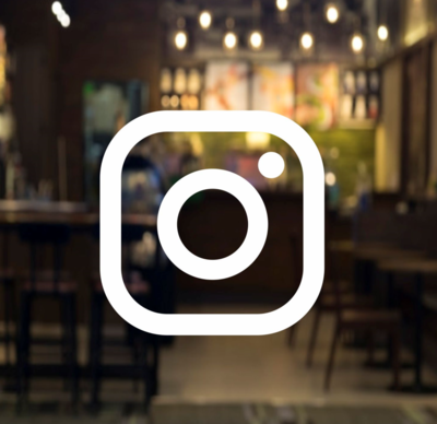 Social Media Instagram Logo, square style