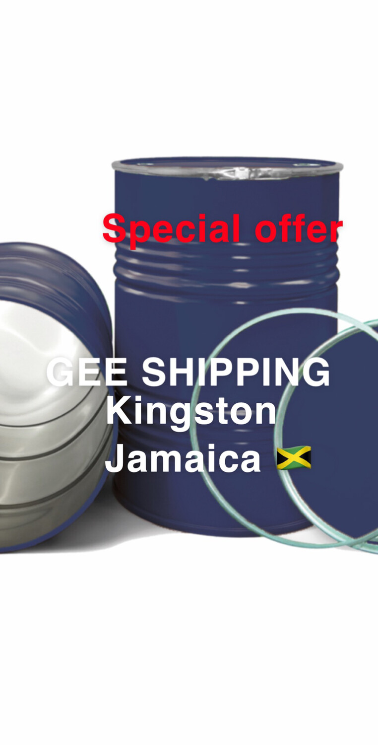 PRODUCT (82) Buy and Ship (2) Steel barrels to (KINGSTON JAMAICA) FREE pick up only in the London area and (2) FREE lock.