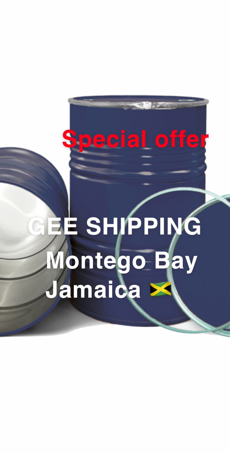 PRODUCT (86) BUY AND SHIP 🚢 (2) USED STEEL BARRELS to (JAMAICA MONTEG BAY) 🇯🇲 FREE PICK UP ONLY IN THE LONDON AREA. BARRELS AND LOCKS ARE INCLUDED.