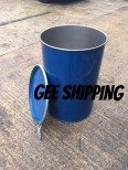 PRODUCT (37) (USED STEEL BARREL) Buy 1 Large barrel 205 litre open top steel drum, FREE delivery and pick up only in the London area. Gee Shipping will not ship any barrel without a lock