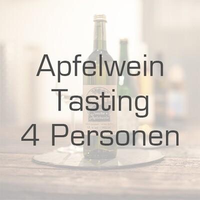 Ticket/Gutschein: Apfelwein-Tasting für 4 Personen