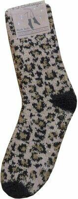 PJ Salvage Wild Heart Leopard Socks