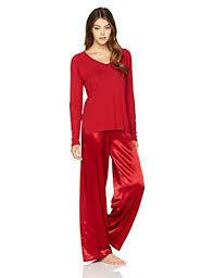 PJ Harlow Red Frankie Long Sleeve Top