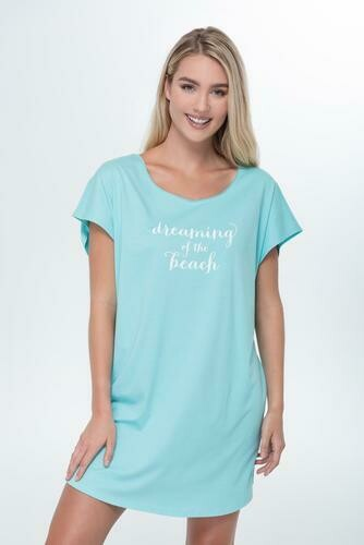 Bella il Fiore Dreaming of the Beach Sleepshirt