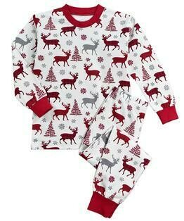 Saras Prints Super Soft Holiday Pajama Set