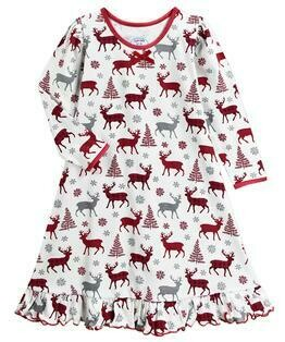 Saras Prints Super Soft Holiday Nightgown