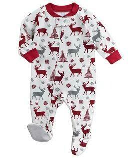 Saras Prints Super Soft Holiday Pajama Onesie