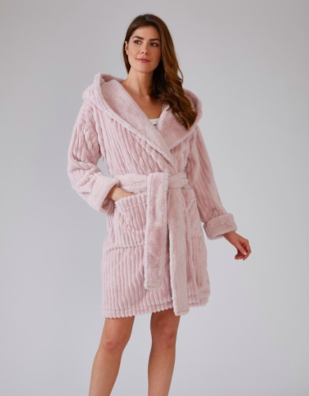 Women's Comfy Cozy Cloud Robe -  Cream or Pink