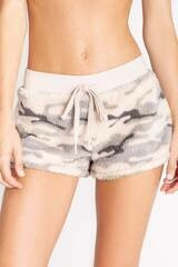 PJ Salvage Camo Cozy Draw String PJ Short  XS thru XL