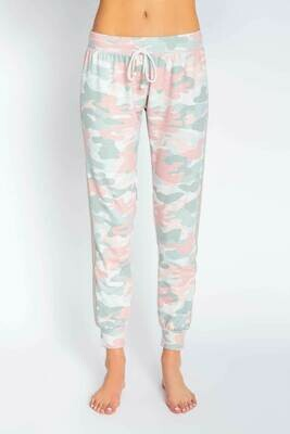 PJ Salvage Womens Spring Camo PJ Jogger Pant  Size XS-XL