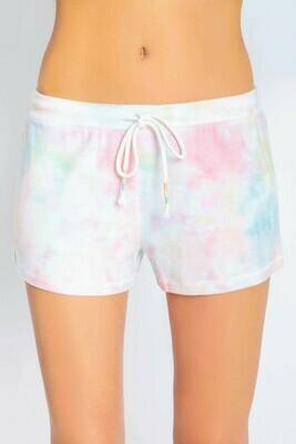 PJ Salvage Spring Tye Dye Womens PJ Shorts
