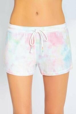 PJ Salvage Spring Tye Dye Womens PJ Shorts  Size S-XL