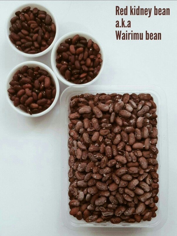 Wairimu beans a.k.a red kidney beans