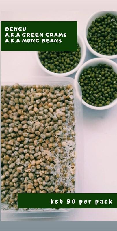 Green grams a.k.a Dengu a.k.a Mung beans
