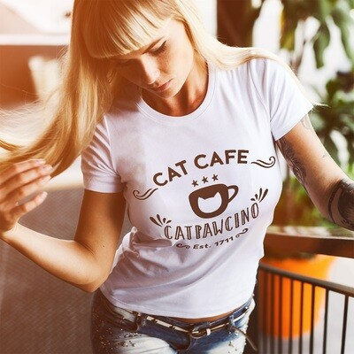 Cat Cafe Catpawcino, for cat and coffee lovers