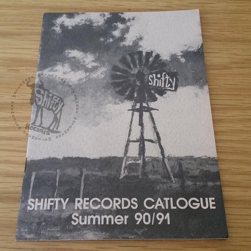 Original Shifty Records Catalogue (Summer 90/91)