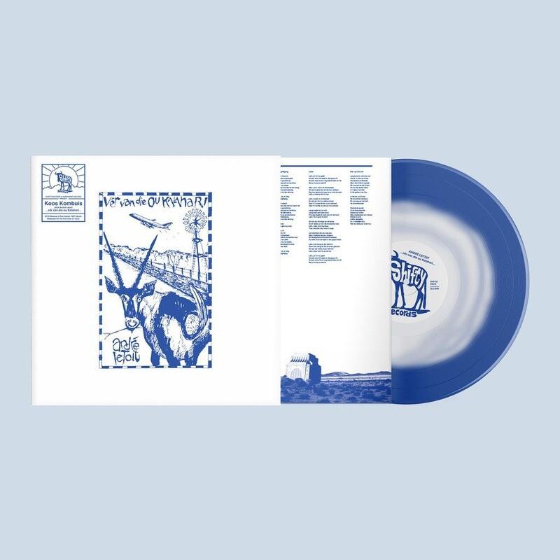 André Letoit (Koos Kombuis) - Vêr van die ou Kalahari [Blue Vinyl]