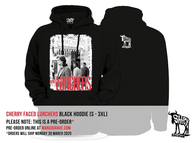 PRE-ORDER: Cherry Faced Lurchers (James Phillips) Black Hoodie