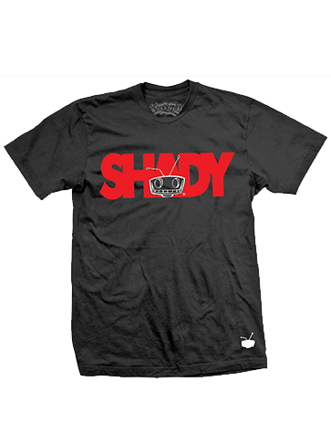 Shady Tee Black/Red
