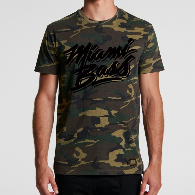 Miami Bass Camo Tees