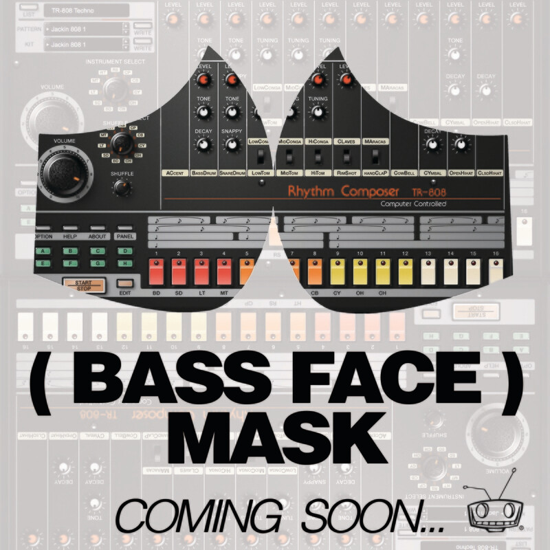 ( BASS FACE ) MASK