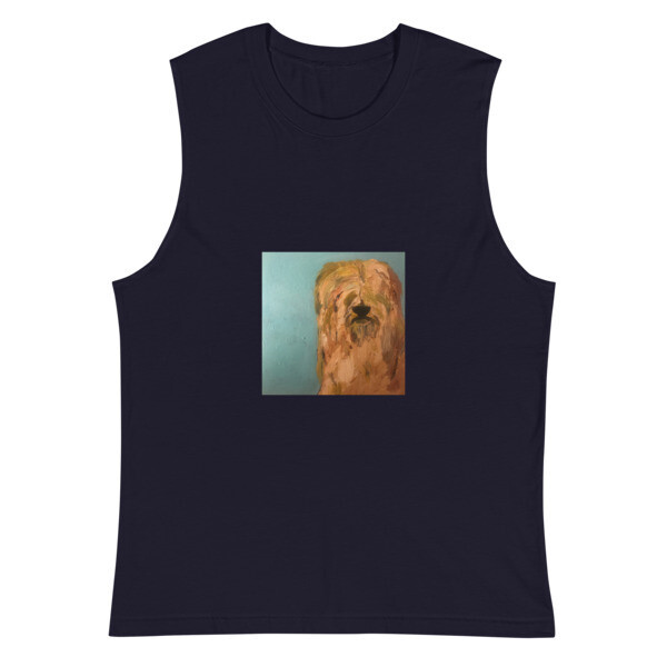 Darwin on Muscle Shirt by Eric Ginsburg