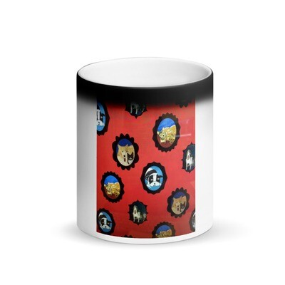 Matte Black Magic Mug by Eric Ginsburg