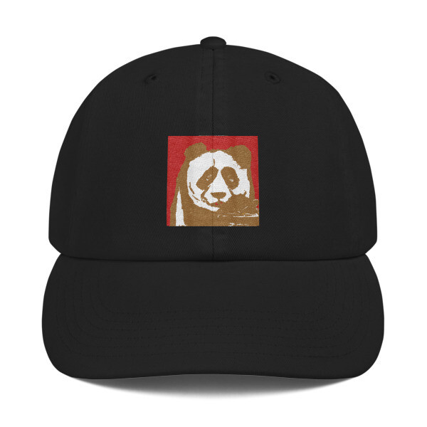 """Champion Dad Cap by Eric Ginsburg """"oatmeal"""""""