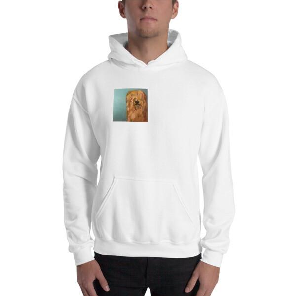 Hooded Sweatshirt by Eric Ginsburg