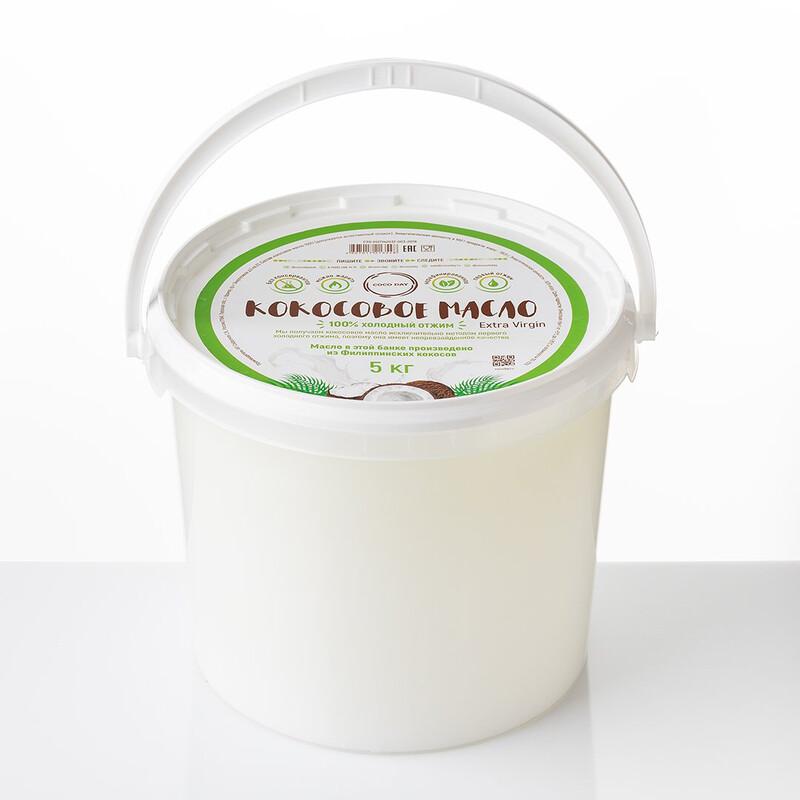 Масло кокосовое 5 кг