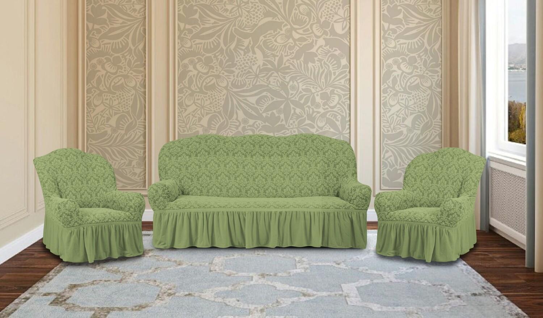 Комплект чехлов на 3-местный диван+2 кресла