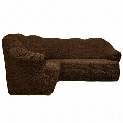 Чехол на угловой диван без оборок