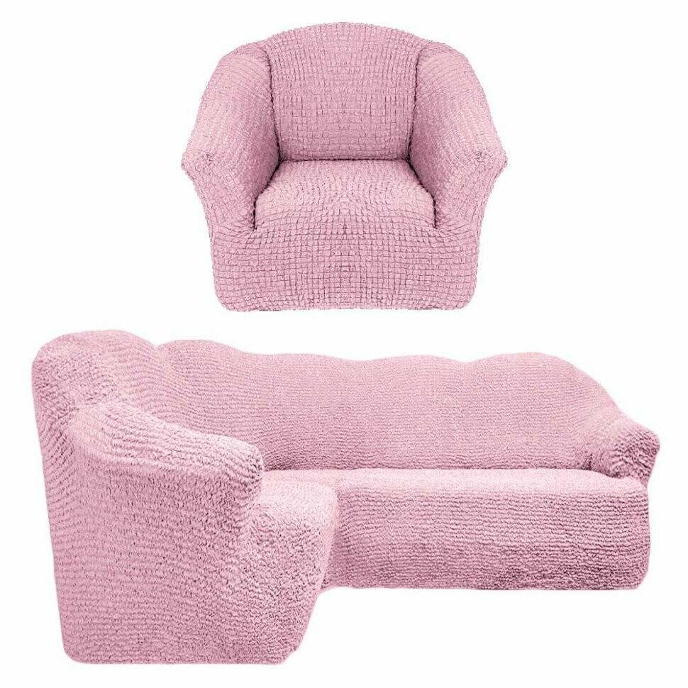 На угловой диван +кресло