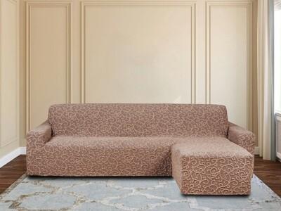 Чехлы на диван с оттоманкой правый угол