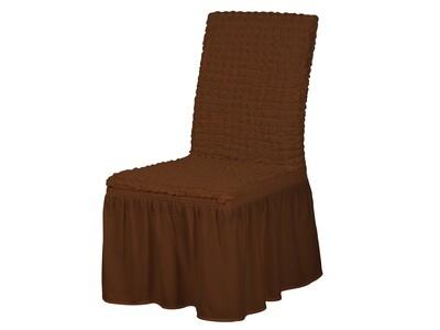 Чехлы для стульев с оборкой(6шт)