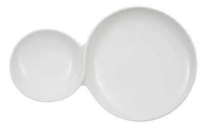 Villeroy & Boch, Flow - piatto da portata two-in-one 39 x 25 cm