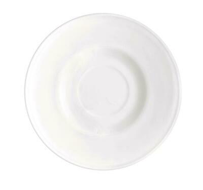 Piatto Per Tazza Cappuccino 145 mm Bianco Icon White