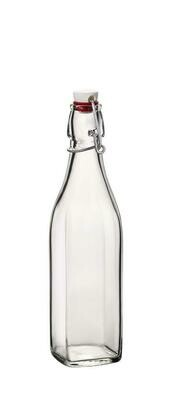 Bormioli Rocco - Bottiglia Quadrata 50 cl Swing