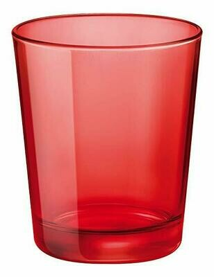 Tirolix - Bicchiere Vino 23 cl Rosso Circle