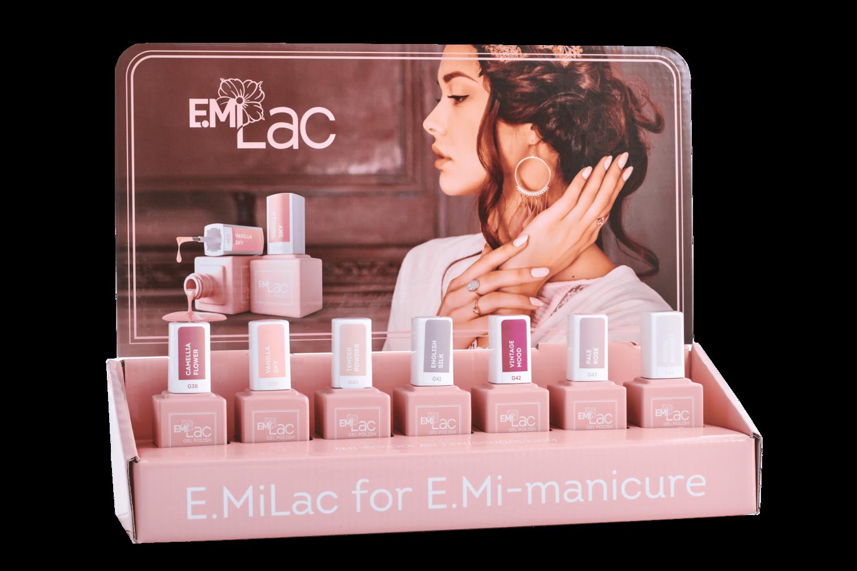 Set E.MiLac Shades of Elegance, 9 ml + display