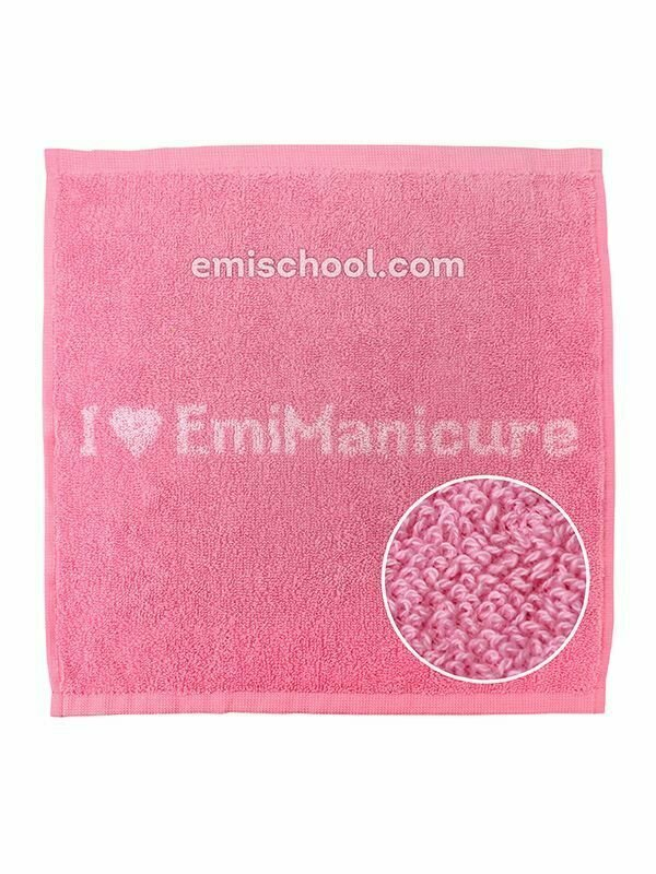 Towel E.Mi-manicure multicolored
