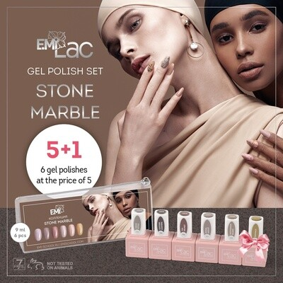 E.MiLac Set Stone Marble
