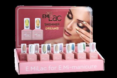 Set E.MiLac Shimmer Dreams + Display