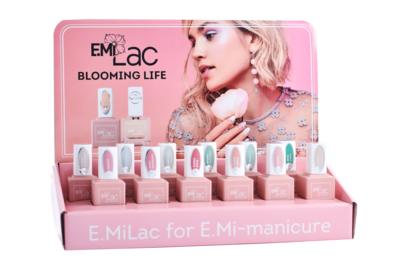 Display Ultra Strong and E.Milac Blooming Life+Set
