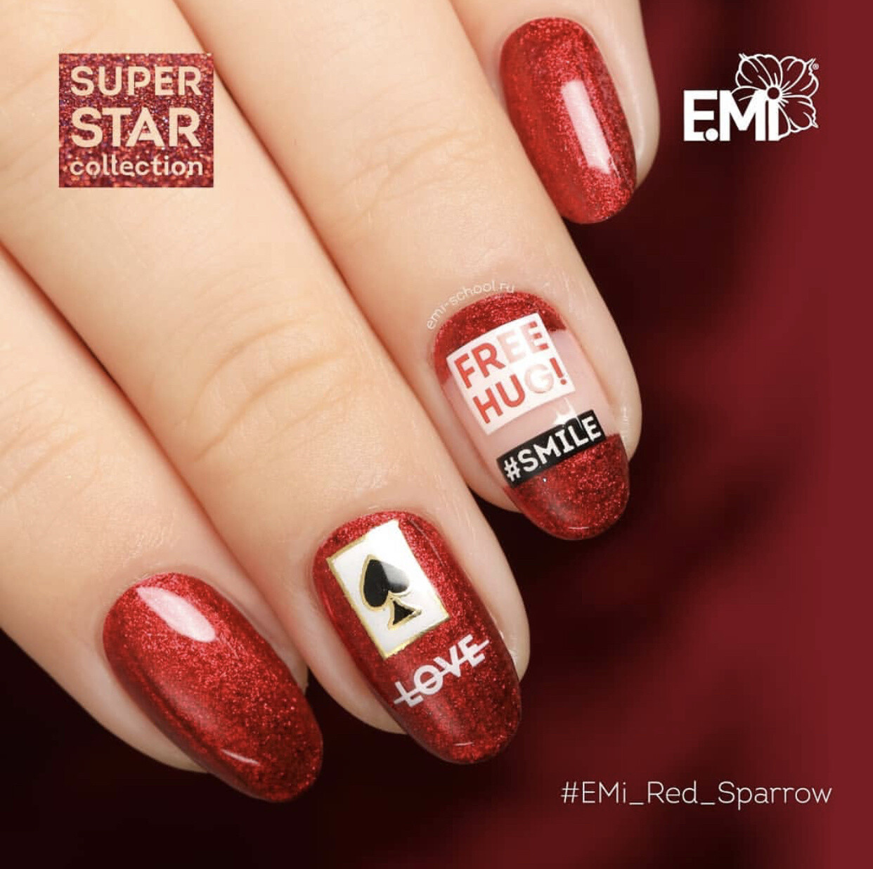 Super Star Red Sparrow, 5 ml.